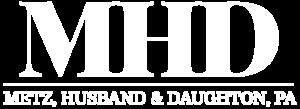 MHD logo (White)